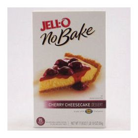 Groceries Instant Canned Foods Jello No Bake Cherry