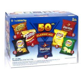 Frito-Lay 54-ct CLASSIC Mix Variety Pack (54 x 28-g)(PI from Hawaii)