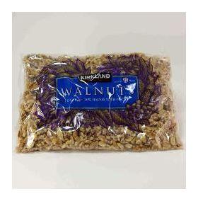 Kirkland Signature Walnuts - 12 Cups (plastic bag)